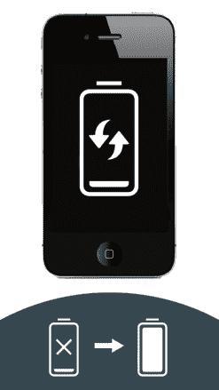 iPhone 4 mit defektem Akku