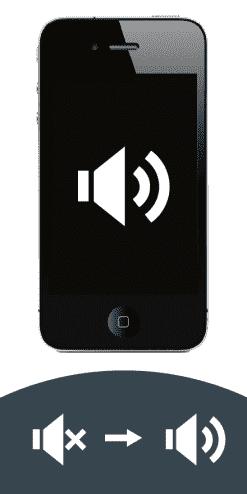 iPhone 4 Reparatur von kaputtem Lautsprecher