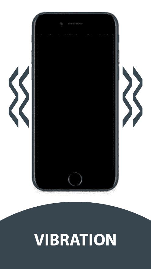 Handy mit Vibrationsdefekt bei der Handy-Reparatur in Berlin