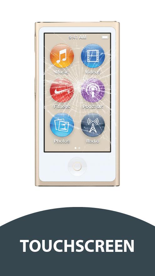 ipod nano 7g touchscreen reparatur house of mobile games. Black Bedroom Furniture Sets. Home Design Ideas